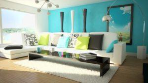 Гостиная и ее цветовое оформление