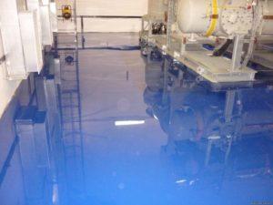 Использование наливных полов в промышленности
