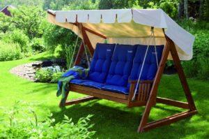 Садовые качели – радость для детей и взрослых