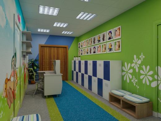 Детская и коридор