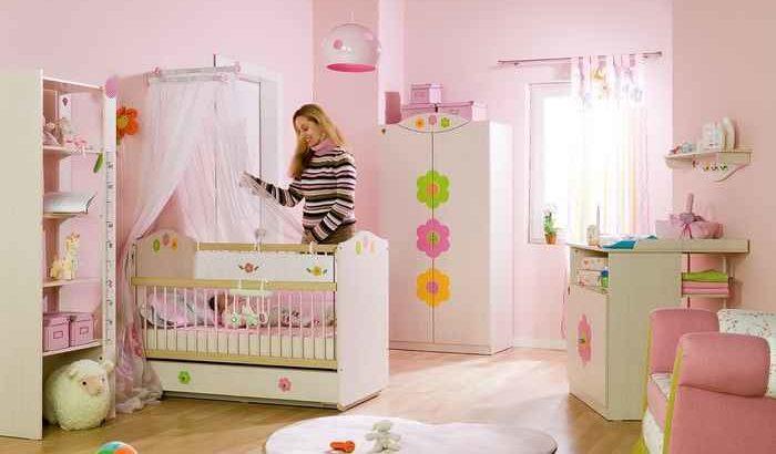 Дизайн комнаты для малышки