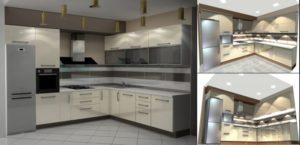 Дизайн-проект для кухни