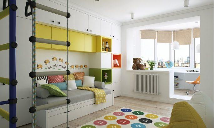 Особенности интерьера детской комнаты