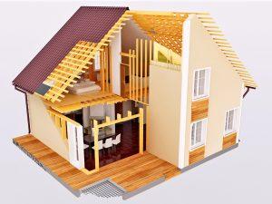 Фирма по строительству каркасных домов