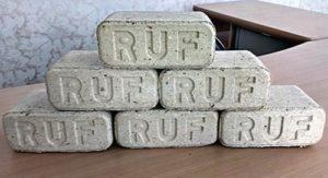 Топливные брикеты-кирпичи RUF