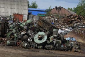 Прием металлолома и его утилизация