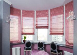 Римские шторы — хороший вариант