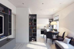 Грамотный дизайн 2-х комнатной квартиры.