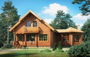 Спрос на деревянные дома