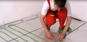 Электрический теплый пол это просто и практично.