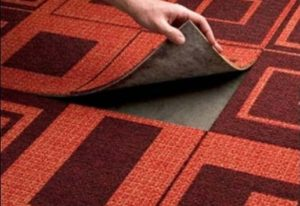 Ковролин и ковровая плитка. Особенности структуры