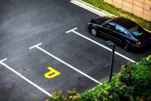 Вопросы автомобильные: парковочное место