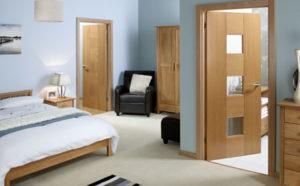 Наличие межкомнатных дверей в каждой комнате