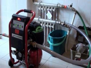 Промывка отопления. Вторая жизнь системы отопления.