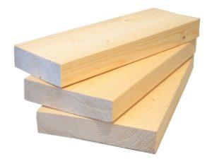 Современная древесина (доска строганная сухая)