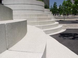 Современный белый цемент