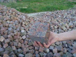 Область применения бутового камня