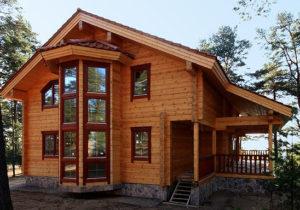 Брус — лучший материал для строительства дачного дома