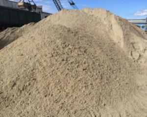 Строительные сыпучие материалы с доставкой по Краснодару