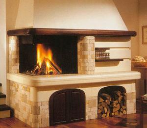 Печь-камин – один из вариантов отопительного оборудования