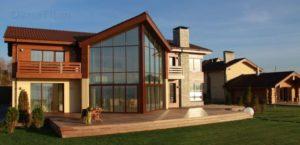 Правильные окна для загородного дома