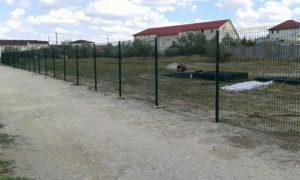 Панельный забор для дачи