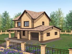 Типовые проекты двухэтажных домов