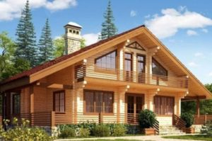 Построить дом из клееного бруса – значит стать владельцем красивого, надежного и долговечного жилья