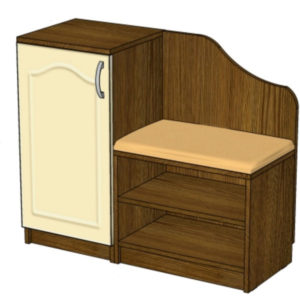 Корпусная мебель. Какими бывают тумбы под обувь