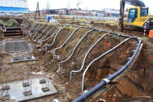 Водопонижение на строительных площадках