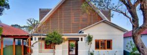 Дизайн фасада частных загородных домов