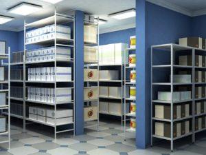 Металлическая мебель: шкафы и стеллажи
