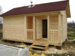 Строительство деревянных домов и бань «под ключ». Клееный и профилированный брус, оцилиндрованное и рубленное бревно!