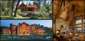 Современные деревянные дома из Пестово