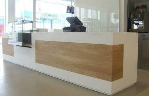 Разнообразие офисной мебели: Стойки ресепшн