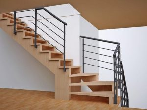 Производство лестниц из дерева