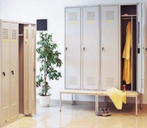 Металлические шкафчики для раздевалок: как выбрать правильно
