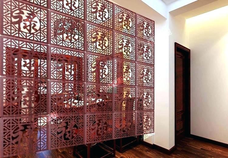 интерьер стен,ажурные деревянные перегородки