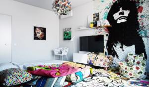 Интерьер стен — тенденции 2020, цвета, дизайн, интересные решения