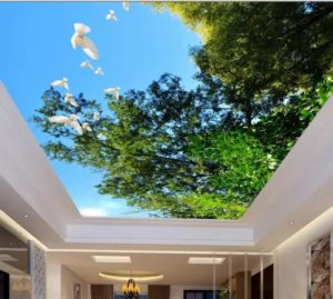 Натяжные потолки из ткани-инвестиция в современный интерьер