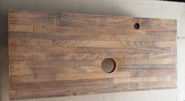 как сделать деревянную столешницу