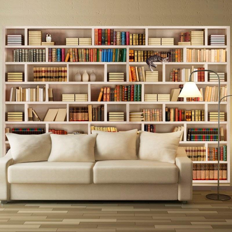 трехмерные обои библиотека