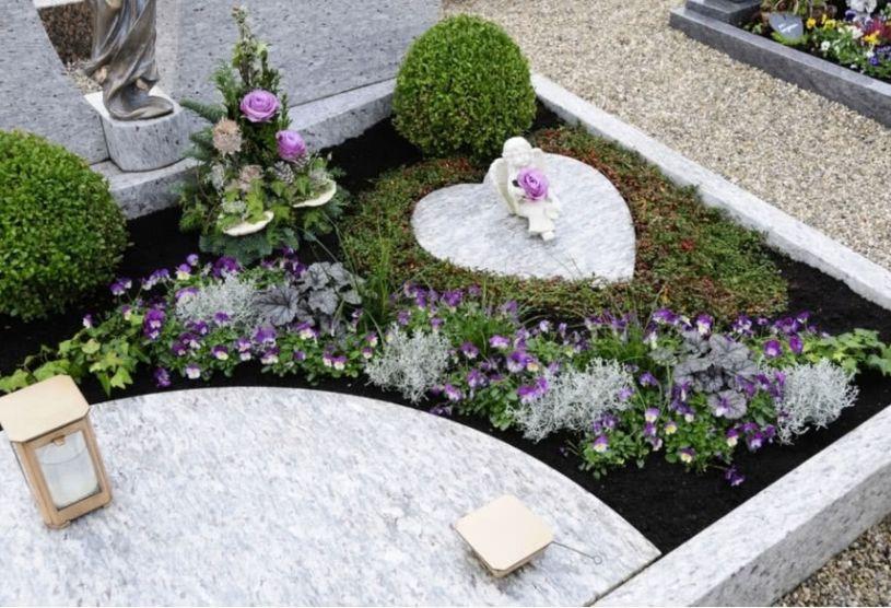 купить цветник на могилу