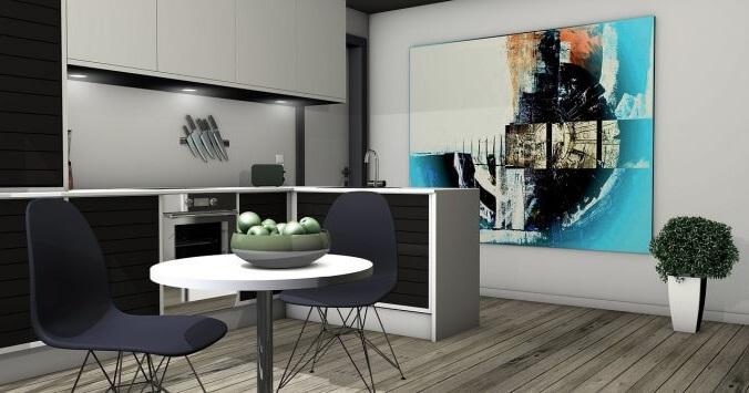 1 комнатная  квартира-студия в москве