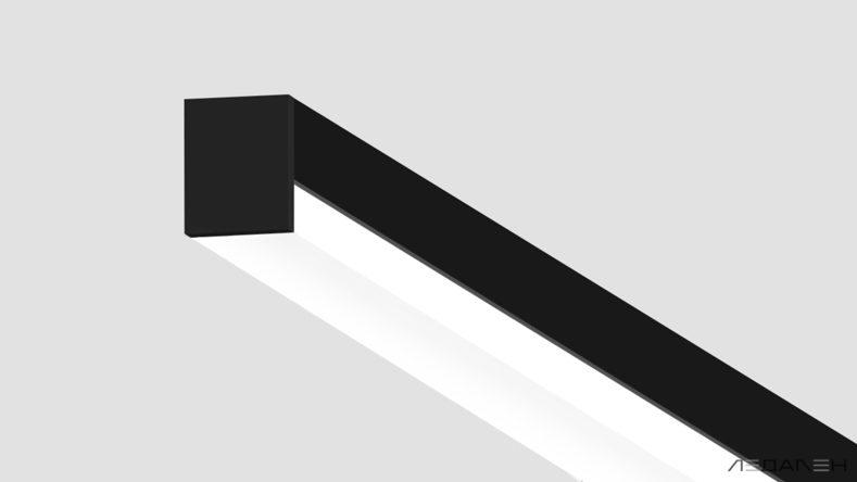 освещение линейными светильниками