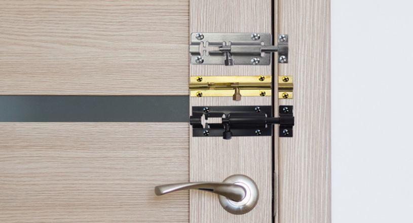 задвижка дверная