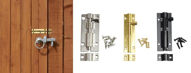 дверные задвижки и шпингалеты