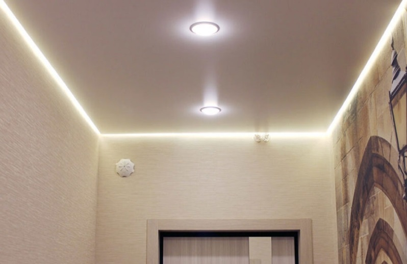 алюминиевый профиль для парящего натяжного потолка