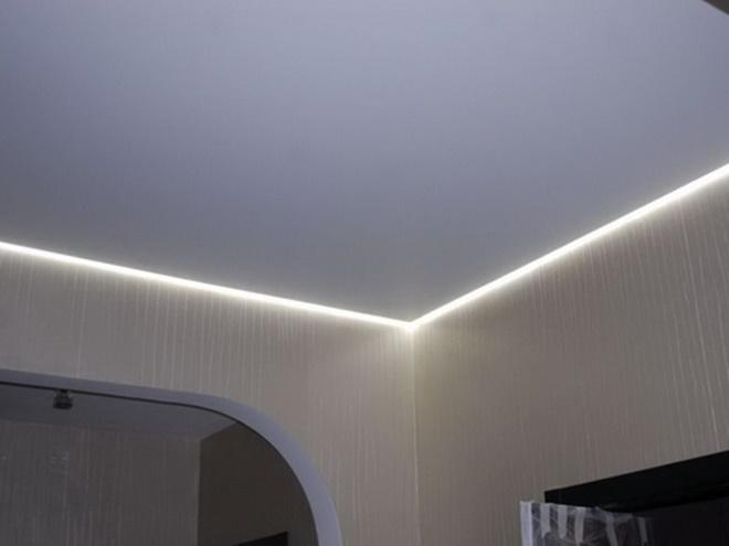 алюминиевый профиль плавающий потолок